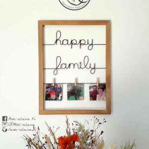 "Cadre photo ""Happy family"""